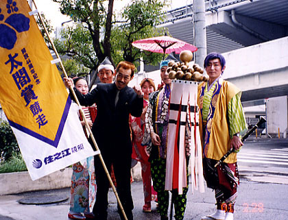 「住之江競艇・太閤賞競争」キャンペーン(大阪市内各所)
